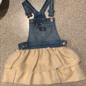 Jordache overall dress